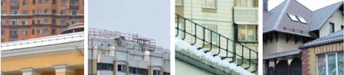 Ограждение от снега от компании D-bork