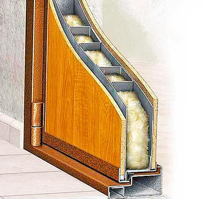 входные двери качественное шумо и теплоизоляция