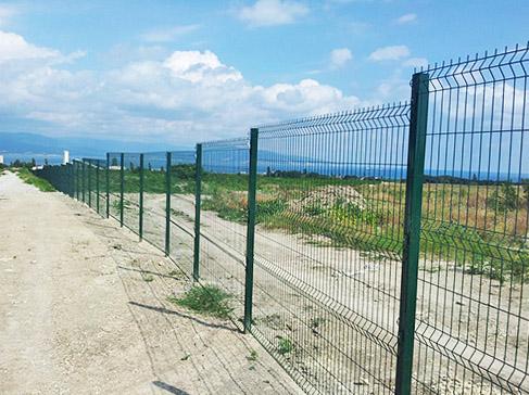 Забор из прутка
