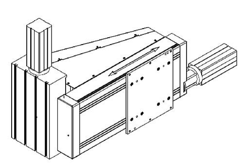 Манипулятор лазерно-дугового